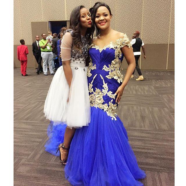 Jescica and Zanele Mbokazi