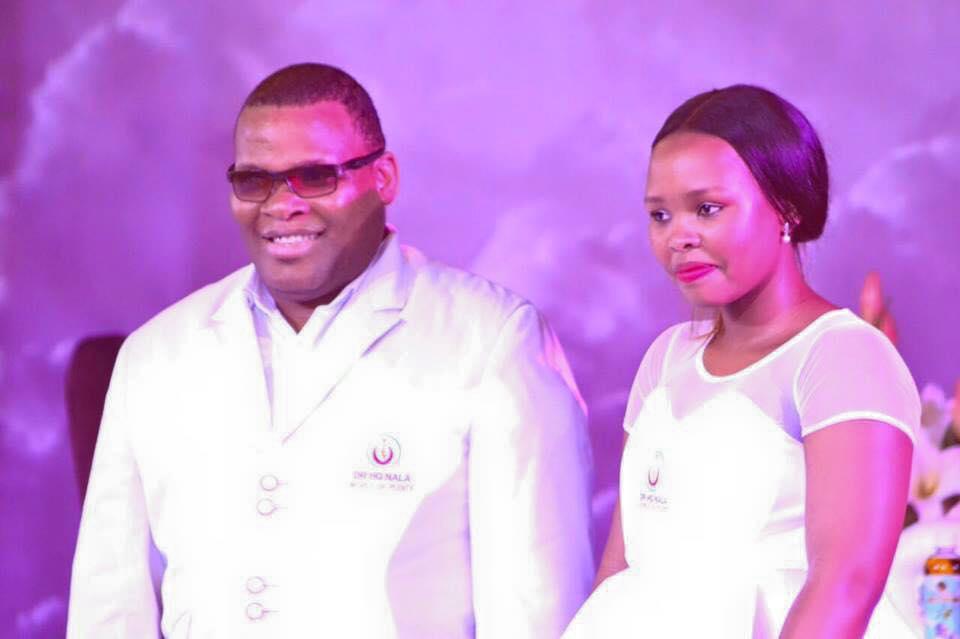 Bishop Nala and wife