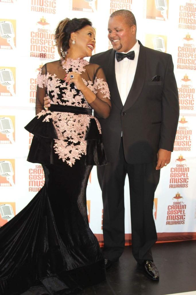 Zanele and hubby Bishop Nkambule
