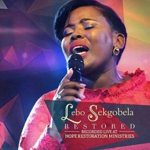 Lebo Sekgobela Restored Album Cover