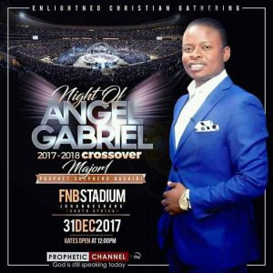 Night of Gabriel 2017 Poster