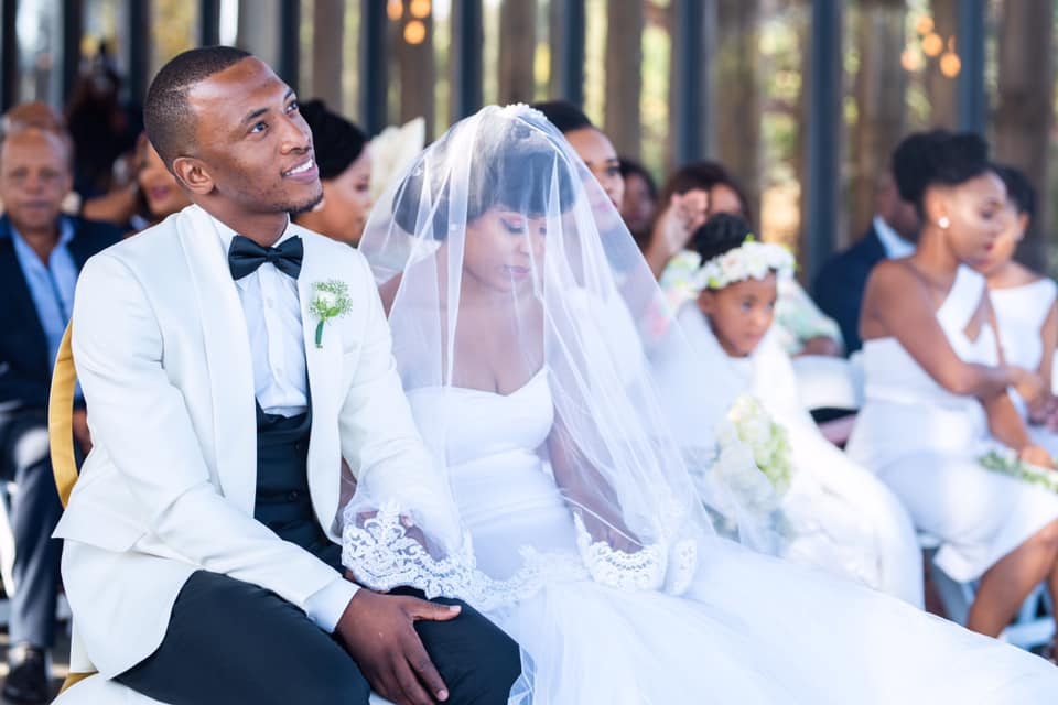 Dumi Mkokstad at Wedding to Ziphozenkosi