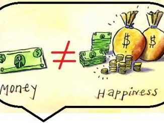 Money and GOD not happiness