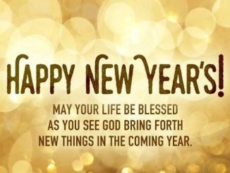 A Blessed New Year 2020