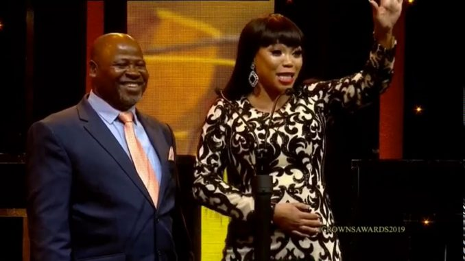 Sonia and Sipho Makhabane Crown Gospel Music Awards2019