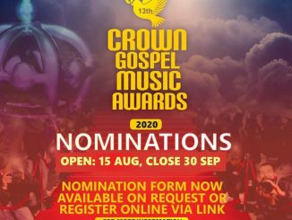 Crown Gospel Music Awards Nominations 2020