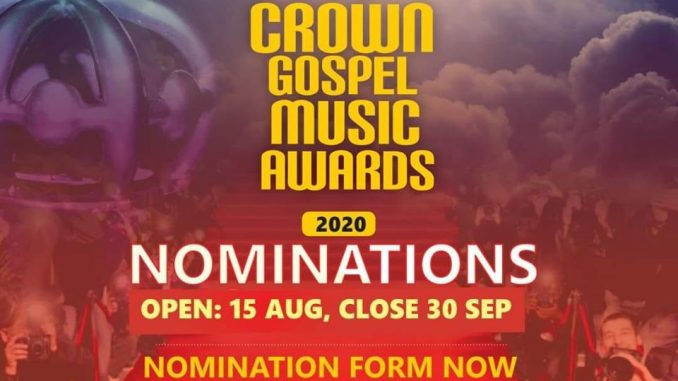 Crown Gospel Music Awards Nominations 2020