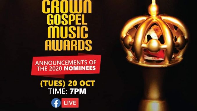 2020 Crown Gospel Music Awards Nominees